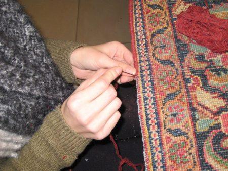 La restauration et entretien des tapis